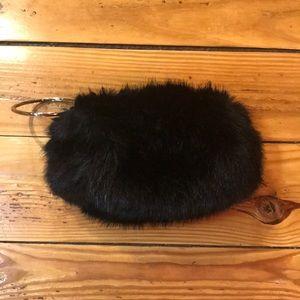 Aldo faux fur clutch